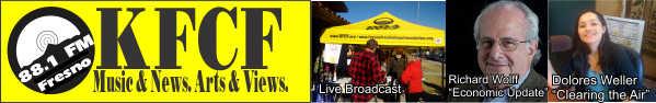 KFCF FM 88.1 Fresno, CA.